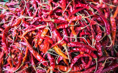collection,dry,red,chilies,kathmandu,nepal