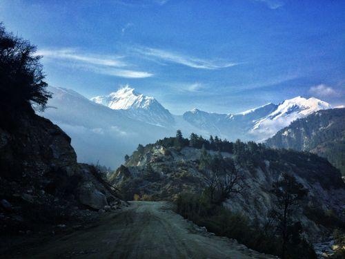 beautiful,view,himalayas,jomsom,mustang
