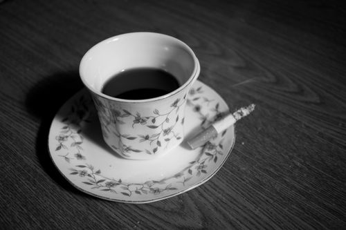 combo,cigarette,cup,hard,coffee