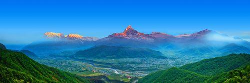 pokhara,sarangkot,view,mount,machhapuchhre