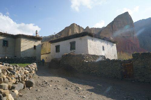 street,dhakmar,village,upper,mustang,nepal