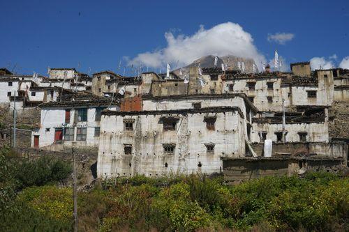 traditional,mustangi,architecture,jharkot,village,muktinath,nepal