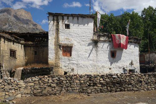 house,purang,village,muktinath,nepal