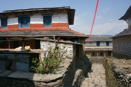 gurung,architecture,dhampus,village,pokhara,nepal