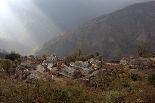 pashgaun,village,lamjung,nepal