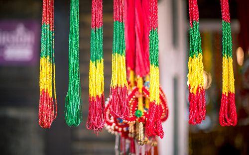 pote,display,sell,shrawan,month,festival,patan,nepal