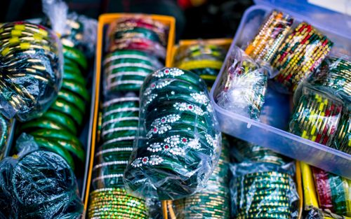 collection,green,yellow,churabangles,patan,nepal