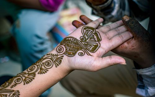 women,mehendi,art,hand,shrawan,traditional,festival,kathmandu