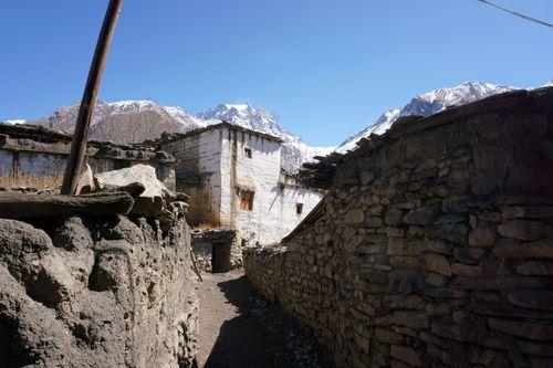 street,purang,villagemustang,nepal