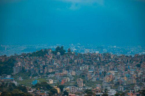 view,kirtipur,champadevi,2285m,sea,level