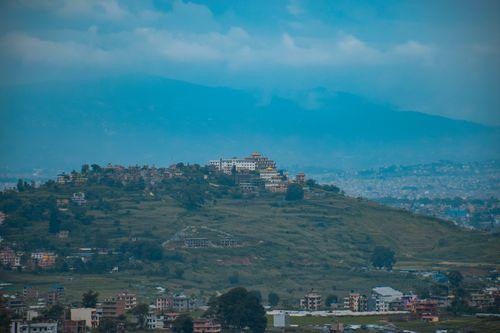 view,शोगन,गुम्बा,tsoknyi,gechak,ling,gumba,champadevi,hill,chovar