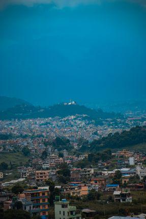 view,swayambhunath,temple,champadevi