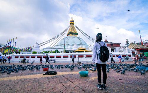 beautiful,view,boudhanath,stupa,kathmandu,nepal