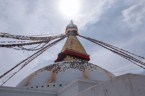 boudhanath,stupa,largest,world,located,kathmandu,nepal,declared,heritage,site,unesco