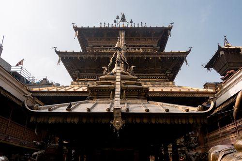 golden,temple,hiranya,varna,mahavihar,located,patan,nepal,attraction,durbar,square