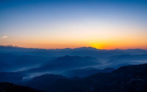 beautiful,landscape,view,nagarkot,height,nepal