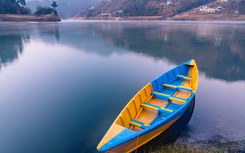 landscape,view,kulekhani,dam,nepal