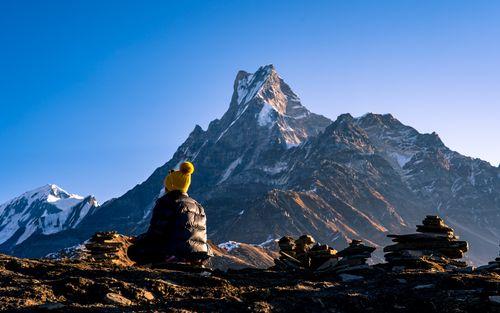 peaceful,meditation,mardi,trek,nepal