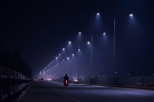 motorcyclist,siddhartha,highway,foggy,night
