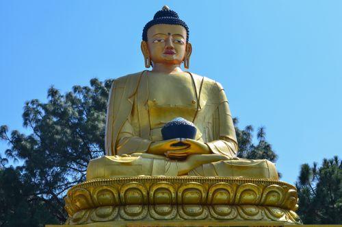 statue,buddha,swayambhunath,kathmandu,nepal