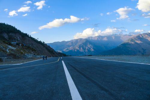 talcha,airport,asphalt,runway,mugu,nepal
