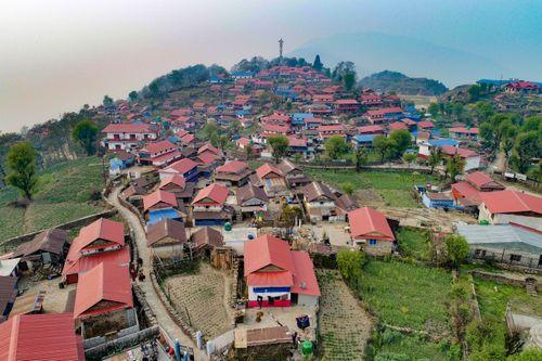 drone,shot,ghalegaun,lamjung,nepal