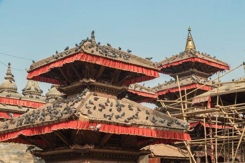 temples,located,kathmandu,durbar,squareworld,heritage,sites,declared,unesco,major,attraction