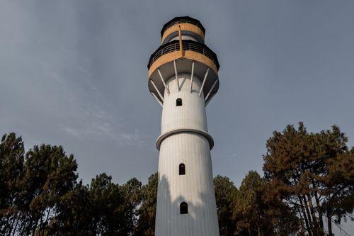 tansen,view,tower,located,shreenagar,scenic,beauty,round,palpa,top,travel,destinations,nepal