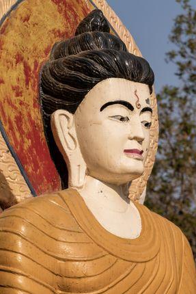 statue,buddha,shreenagar,tansen,palpa,nepal,view,scenic,beauty