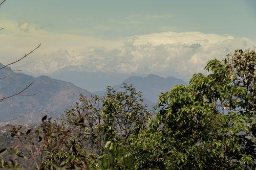 beautiful,mountain,range,mountains,located,pokhara,batase,dada,tansen,palpa,nepal