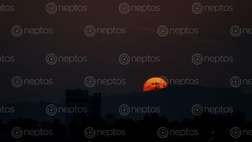 Find  the Image sun,set,hills  and other Royalty Free Stock Images of Nepal in the Neptos collection.