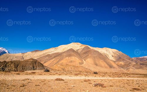 Find  the Image beautiful,landscape,view,lower,mustang,nepal  and other Royalty Free Stock Images of Nepal in the Neptos collection.