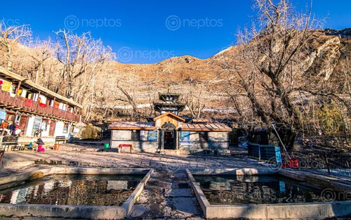 Find  the Image muktinath,temple,mustang,nepal  and other Royalty Free Stock Images of Nepal in the Neptos collection.