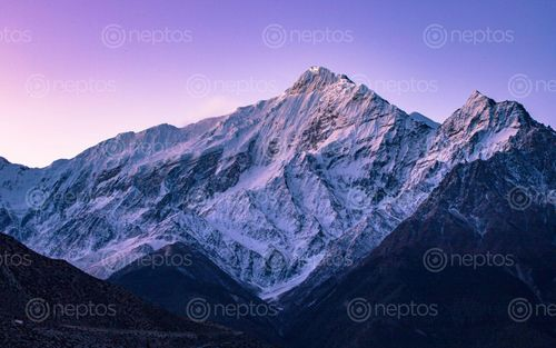 Find  the Image sunrise,mount,tilitso,himal,jomsom,mustang,nepal  and other Royalty Free Stock Images of Nepal in the Neptos collection.