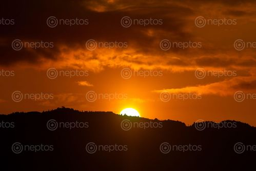Find  the Image beautiful,view,sunrise,hills😍😍😍  and other Royalty Free Stock Images of Nepal in the Neptos collection.