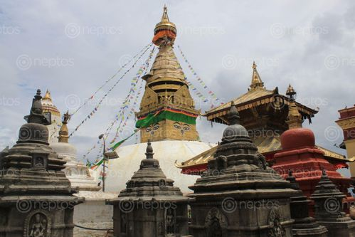 Find  the Image famous,world,heritage,site,swayambhunath,mahachaitya,symbol,peace,kindness,stand,top,swayambhu,hill  and other Royalty Free Stock Images of Nepal in the Neptos collection.