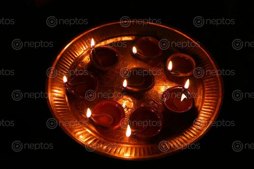 Find  the Image diyas,festival,light#,stock,image,nepalphotography,sita,maya,shrestha  and other Royalty Free Stock Images of Nepal in the Neptos collection.