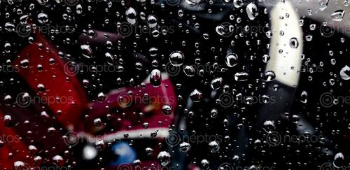 Find  the Image picture,water,droplets,glass,window,car  and other Royalty Free Stock Images of Nepal in the Neptos collection.