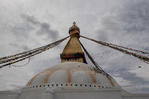 Find  the Image boudhanath,stupa,largest,world,located,kathmandu,nepal,declared,heritage,site,unesco  and other Royalty Free Stock Images of Nepal in the Neptos collection.