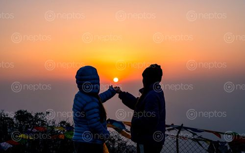 Find  the Image beautiful,sunrise,mardi,trek,nepal  and other Royalty Free Stock Images of Nepal in the Neptos collection.