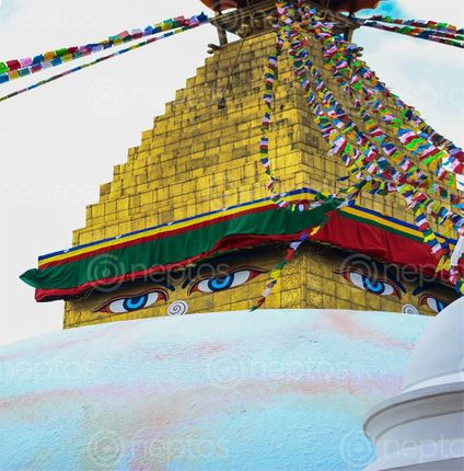 Find  the Image wisdom,eyes,buddha,bouddhanath  and other Royalty Free Stock Images of Nepal in the Neptos collection.