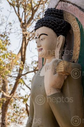 Find  the Image statue,buddha,shreenagar,tansen,palpa,nepal,view,scenic,beauty  and other Royalty Free Stock Images of Nepal in the Neptos collection.
